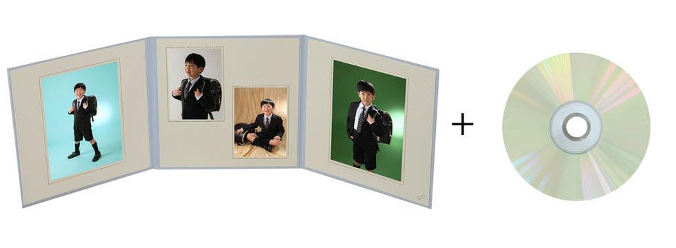 安い入学式写真データ付きセット